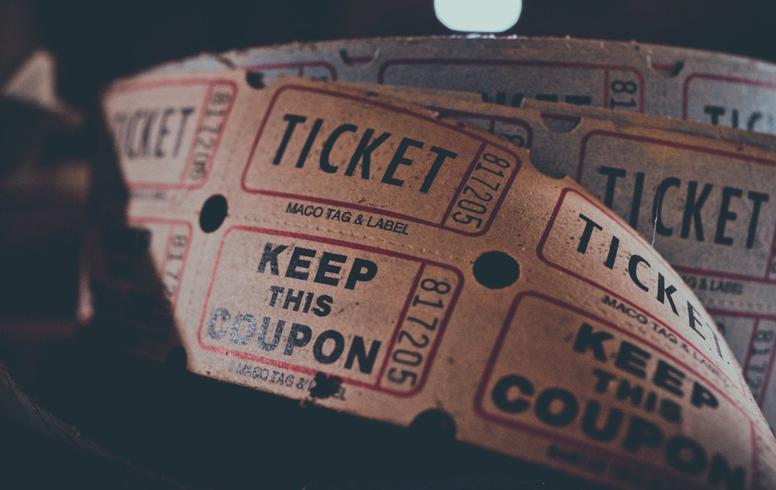 Nog geen ticket types